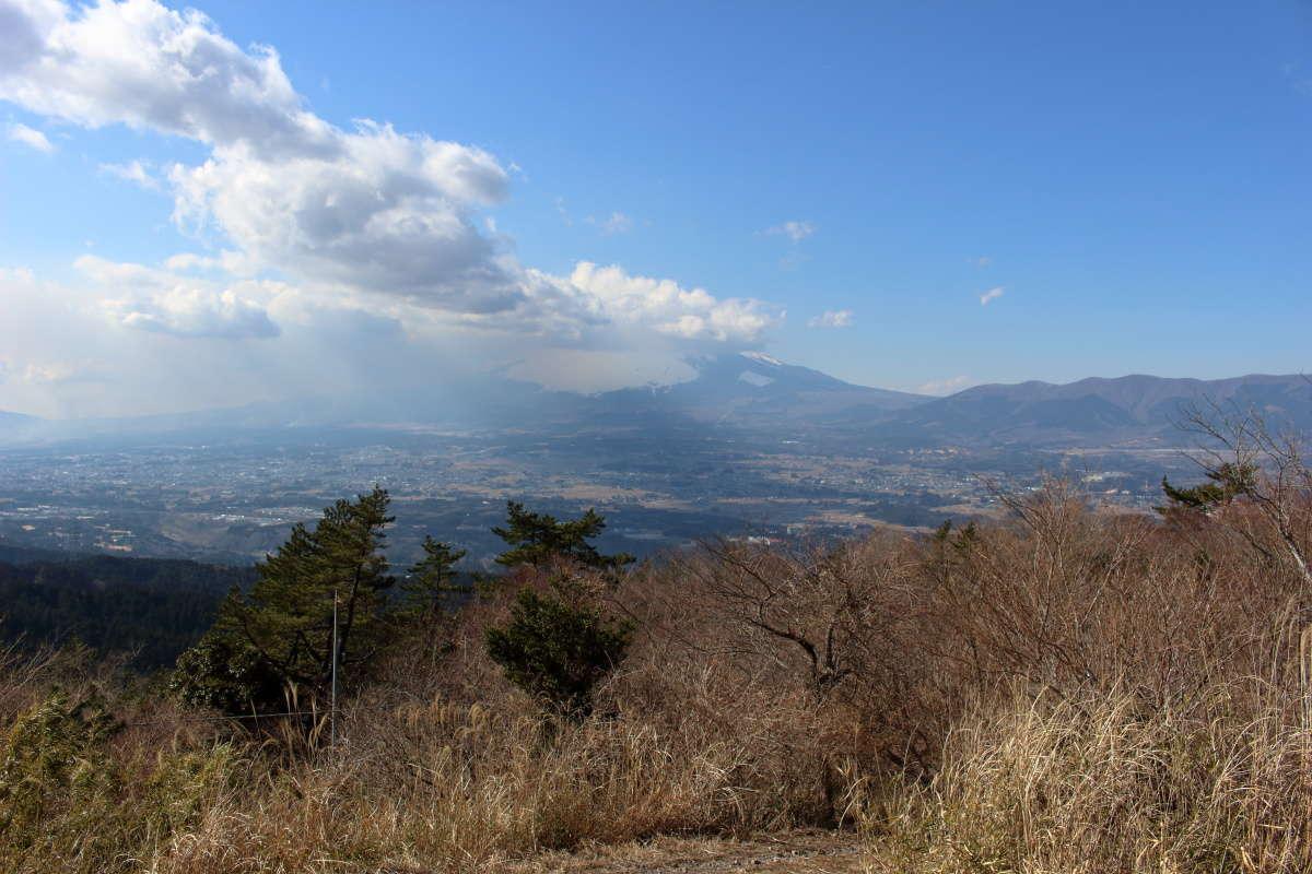 足柄峠の富士山ビュースポット