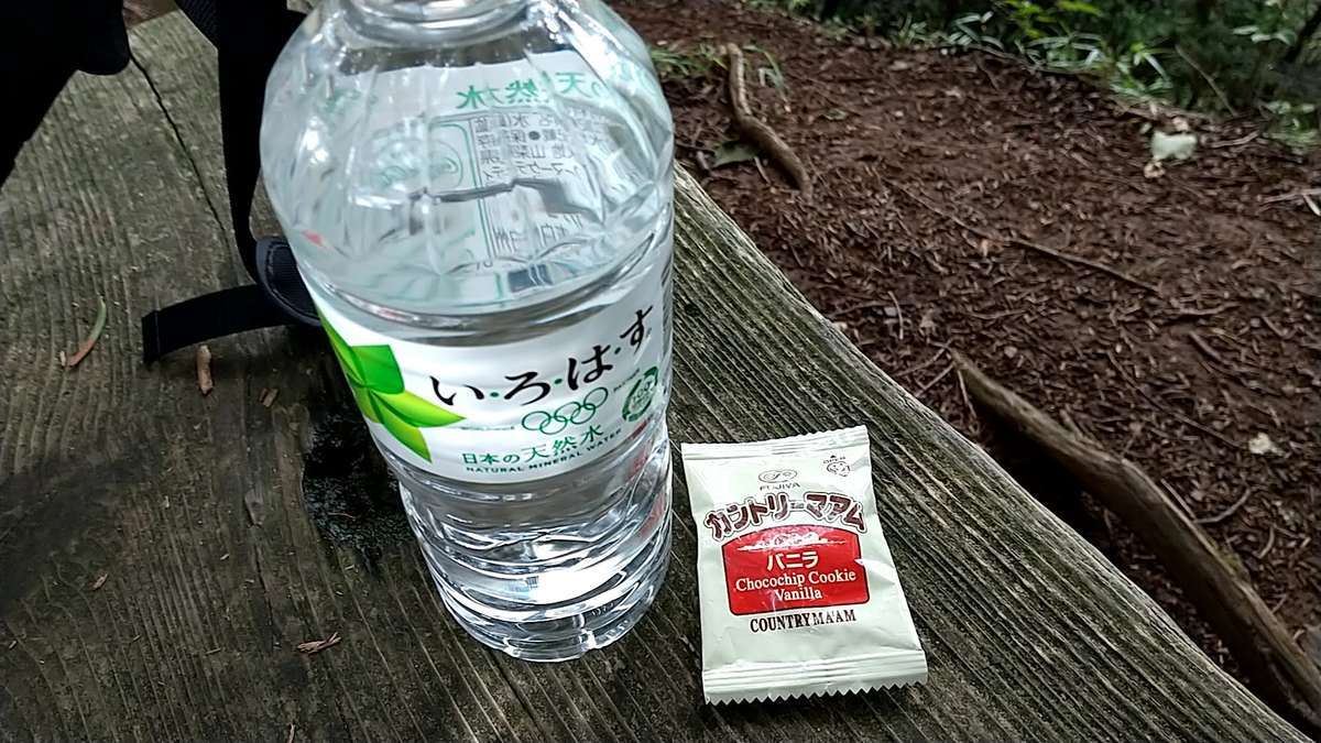 水分と糖分を補給しながら進みます